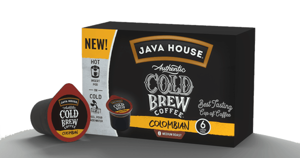 $2.00 for JAVA HOUSE® Cold Brew Coffee. Offer available at multiple stores.