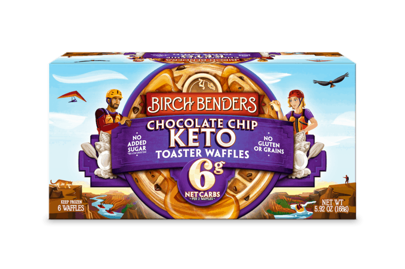 $1.00 for Birch Benders Keto Toaster Waffles (expiring on Thursday, 08/19/2021). Offer available at multiple stores.