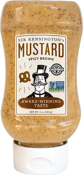 $1.00 for Sir Kensington's Squeeze Mustard. Offer available at multiple stores.