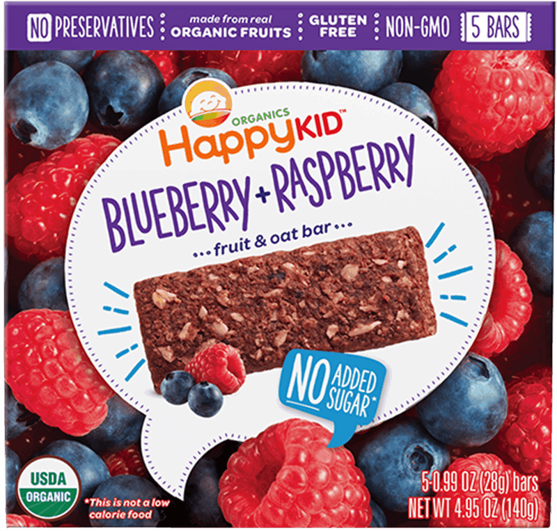 $1.00 for Happy Kids™ Organic Snack Bars (expiring on Wednesday, 08/21/2019). Offer available at Walmart.