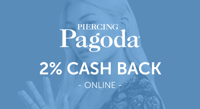 $0.00 for Piercing Pagoda (expiring on Tuesday, 09/30/2025). Offer available at Piercing Pagoda.