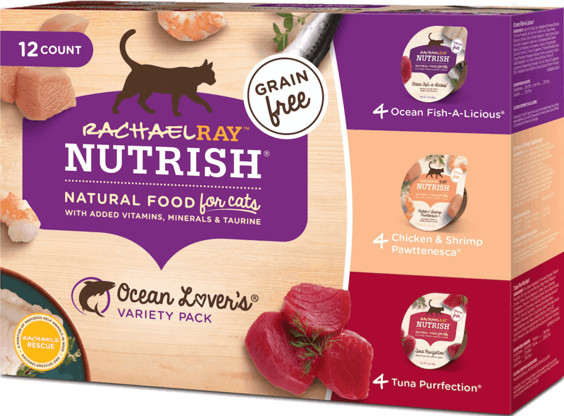 $1.50 for Rachael Ray™ Nutrish® Wet Cat Food (expiring on Tuesday, 06/02/2020). Offer available at multiple stores.
