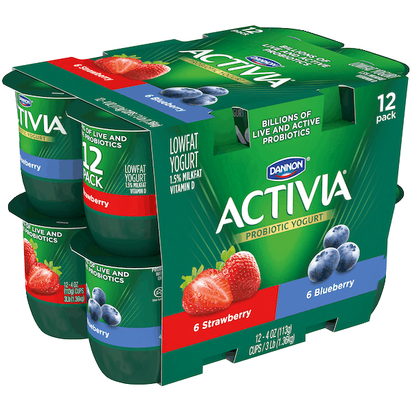 $1.00 for Activia® Probiotic Yogurt (expiring on Tuesday, 10/02/2018). Offer available at Walmart.
