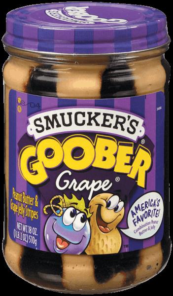 $0.50 for Smucker's® Goober Grape® PB&J Stripes (expiring on Sunday, 01/28/2018). Offer available at ShopRite, PriceRite.