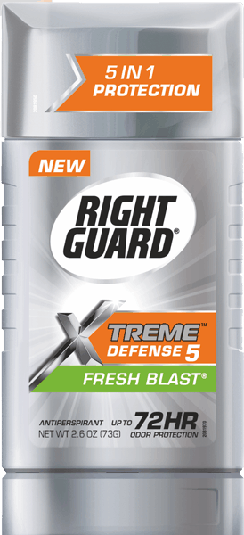 $0.50 for Right Guard® Xtreme™ Antiperspirant Deodorant (expiring on Tuesday, 05/30/2017). Offer available at multiple stores.
