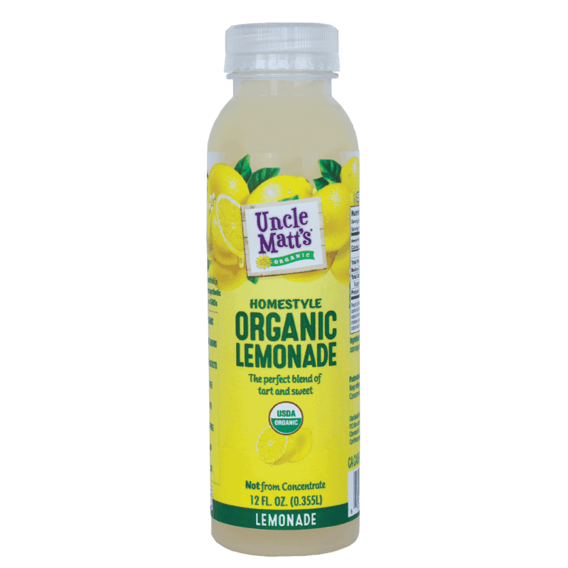 $0.50 for Uncle Matt's® Organic Juices (expiring on Monday, 09/02/2019). Offer available at Giant Eagle, Harris Teeter.