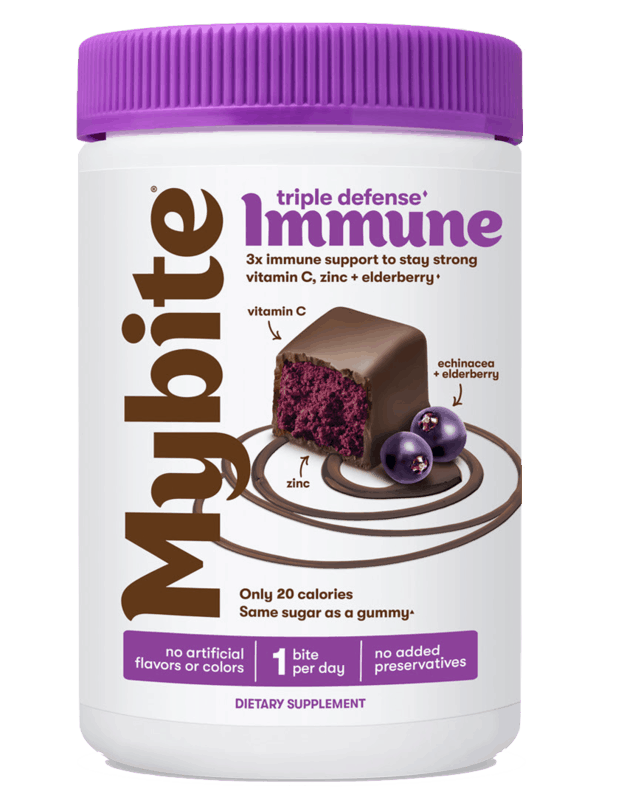 $1.00 for Mybite Immune Chocolate Vitamin (expiring on Saturday, 10/31/2020). Offer available at Walgreens.