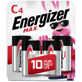 $1.00 for Energizer Max C Batteries (expiring on Wednesday, 03/31/2021). Offer available at Walmart, Walmart Grocery.