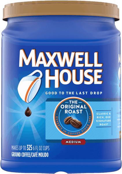 $2.00 for Maxwell House Original Medium Roast Ground Coffee (expiring on Friday, 08/02/2019). Offer available at Walmart.com.