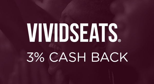 $0.00 for Vivid Seats (expiring on Wednesday, 07/03/2019). Offer available at Vivid Seats .