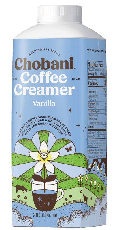 $1.00 for Chobani Coffee Creamer (expiring on Sunday, 05/24/2020). Offer available at multiple stores.