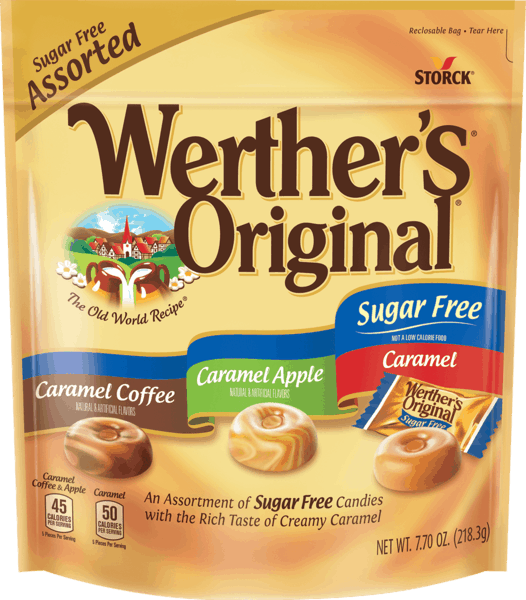 $1.50 for Werther's® Original® Sugar Free Caramels (expiring on Friday, 03/16/2018). Offer available at multiple stores.