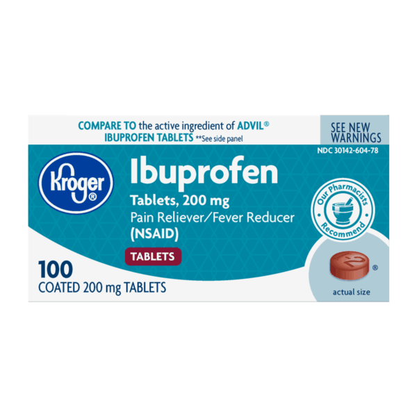 image relating to Kroger Printable Application identify $1.00 for Kroger Ibuprofen Products, 200 mg. Give obtainable