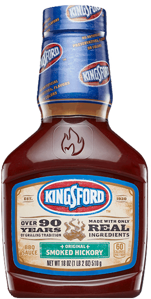 $1.00 for Kingsford® BBQ Sauce (expiring on Monday, 04/02/2018). Offer available at multiple stores.