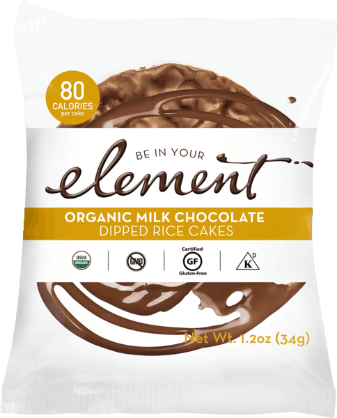 $0.50 for Element® Dipped Rice Cakes (expiring on Sunday, 09/02/2018). Offer available at Whole Foods Market®.