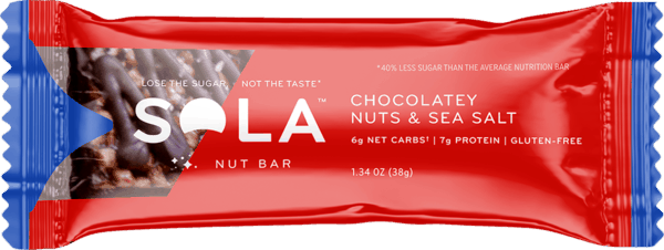 $0.50 for Sola® Nut Bars (expiring on Thursday, 02/28/2019). Offer available at Harris Teeter, Hy-Vee.