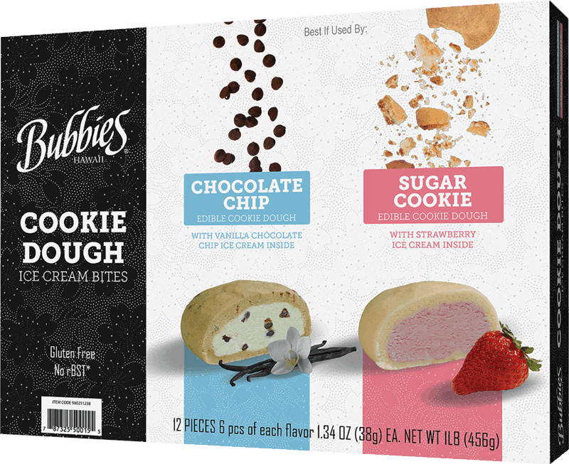 $2.50 for Bubbies® Cookie Dough Ice Cream Bites Multi-Pack (expiring on Saturday, 05/02/2020). Offer available at Sam's Club.