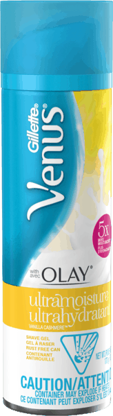 $2.00 for Gillette® Venus® with Olay® Shave Gel. Offer available at multiple stores.