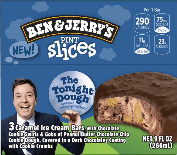 $1.75 for Ben & Jerry's Pint Slices (expiring on Wednesday, 04/11/2018). Offer available at multiple stores.