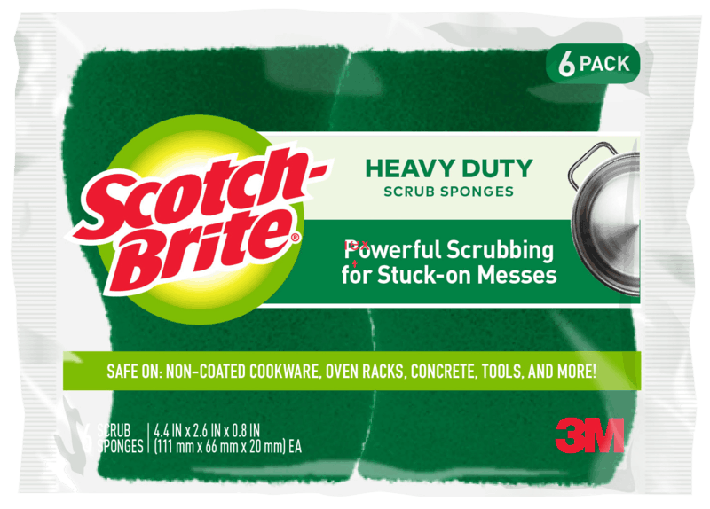 $0.25 for Scotch-Brite® Scrub Sponges. Offer available at Walmart.