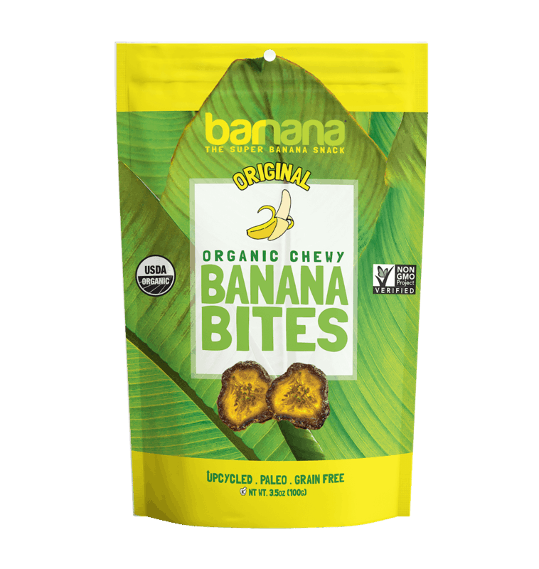 $1.00 for Barnana® Organic Chewy Banana Bites (expiring on Monday, 08/31/2020). Offer available at Safeway, Wegmans, Sprouts Farmers Market.