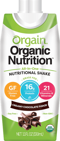 $1.00 for Orgain® Organic Nutrition Shake (expiring on Sunday, 04/01/2018). Offer available at Kroger, H-E-B, Wegmans, Raley's.