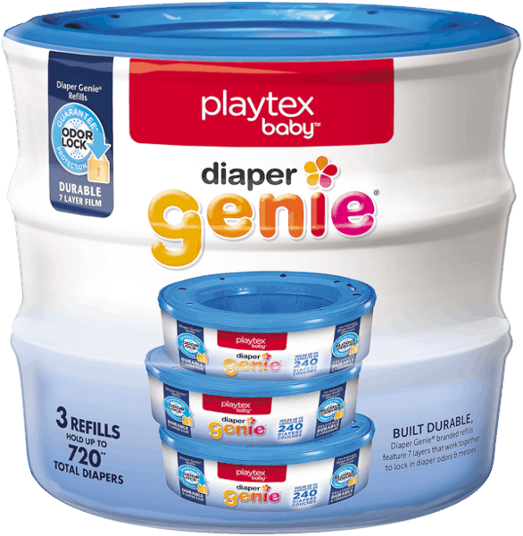 $2.00 for Playtex Baby™ Diaper Genie® (expiring on Friday, 04/28/2017). Offer available at Walmart.