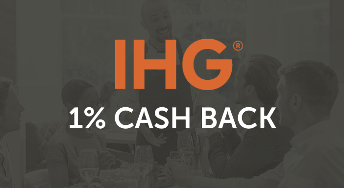 $0.00 for Intercontinental Hotels Group (expiring on Thursday, 12/31/2020). Offer available at InterContinental Hotels Group.