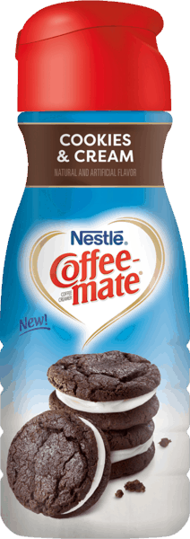$0.50 for COFFEE-MATE® Cookies and Cream (expiring on Wednesday, 01/02/2019). Offer available at Walmart.