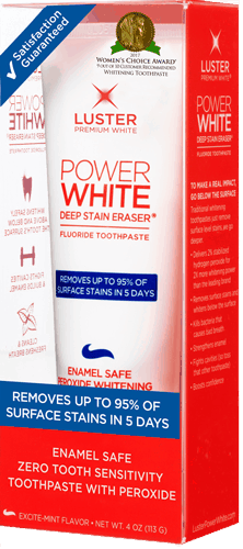 $1.50 for Luster Power White Toothpaste (expiring on Wednesday, 08/23/2017). Offer available at Target, Walmart, Walgreens, Rite Aid, Albertsons.