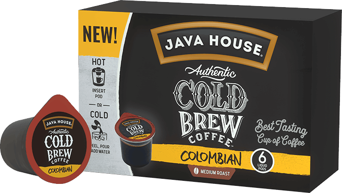 $1.50 for JAVA HOUSE® Cold Brew Coffee (expiring on Sunday, 02/02/2020). Offer available at multiple stores.
