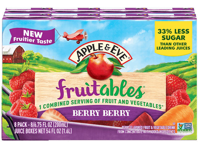 $1.00 for Apple & Eve Fruitables (expiring on Saturday, 01/30/2021). Offer available at multiple stores.