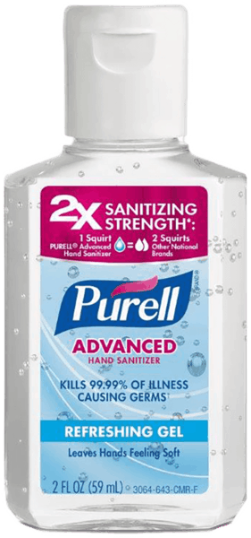 $0.50 for Purell® Hand Sanitizer (expiring on Saturday, 06/02/2018). Offer available at Walmart.