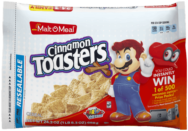 $0.30 for Malt O Meal® Cereals (expiring on Saturday, 06/02/2018). Offer available at multiple stores.