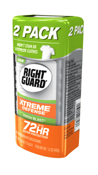 image about Right Guard Printable Coupon identified as $2.00 for Specifically Guard® Xtreme Defense™ Antiperspirant