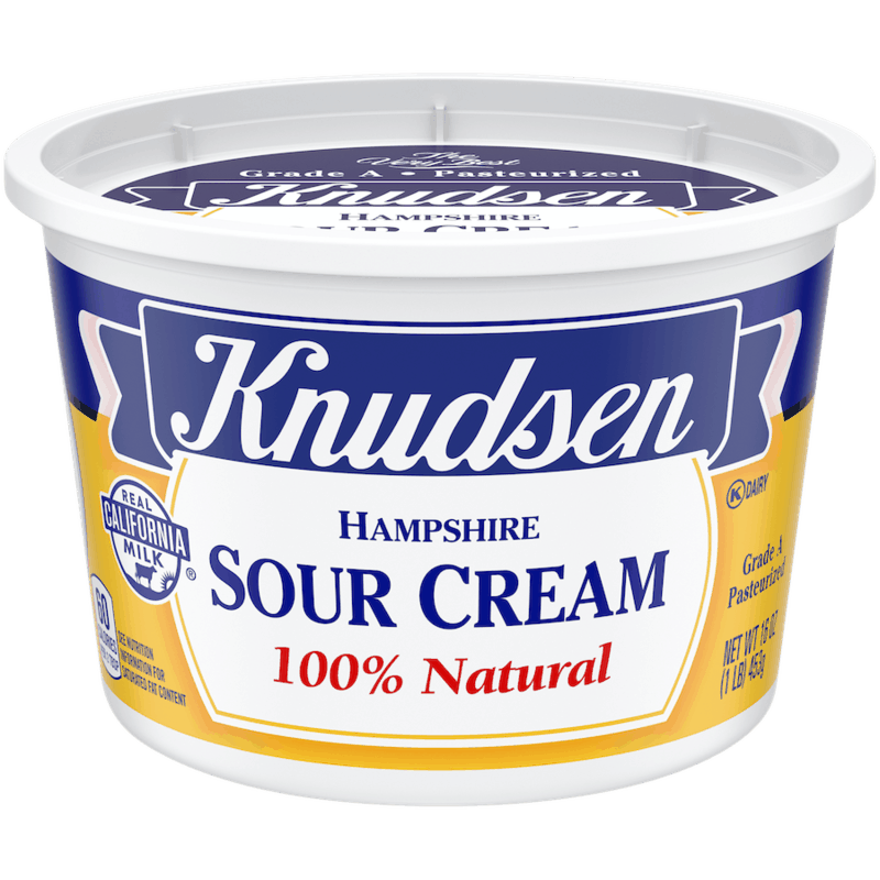 $0.50 for Knudsen Sour Cream (expiring on Friday, 04/30/2021). Offer available at multiple stores.