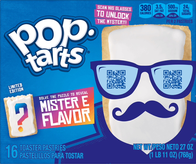 $0.75 for Pop Tart Mystery Flavor (expiring on Wednesday, 09/01/2021). Offer available at Walmart, Walmart Pickup & Delivery.