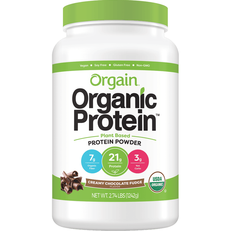 $5.00 for Orgain® Organic Plant-Based Protein Powder. Offer available at Costco.