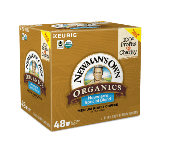 $2.00 for Newman's Own® Organics Special Blend Coffee K-Cup® pods (expiring on Sunday, 09/30/2018). Offer available at Walmart.