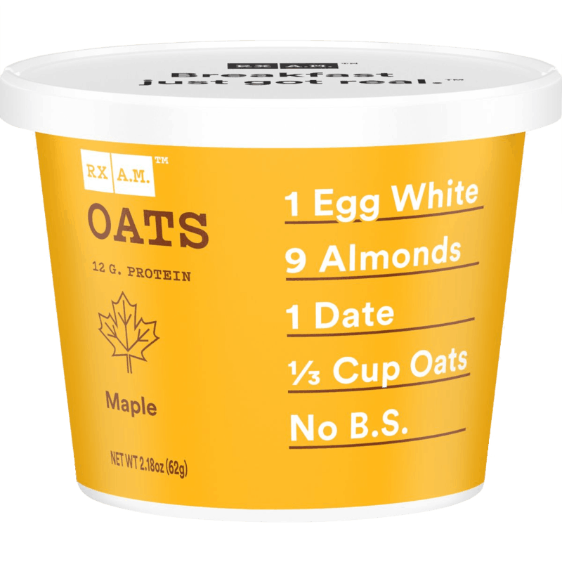 $1.00 for RX A.M.™ Oats Cup (expiring on Tuesday, 05/05/2020). Offer available at multiple stores.