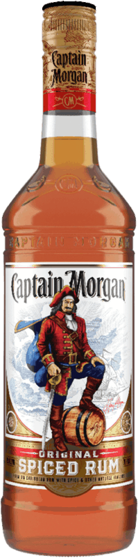 $1.00 for CAPTAIN MORGAN Rum. Offer available at multiple stores.
