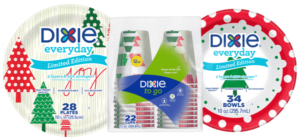 $0.50 for Dixie® Everyday and Dixie® To Go (expiring on Wednesday, 02/28/2018). Offer available at Walmart.