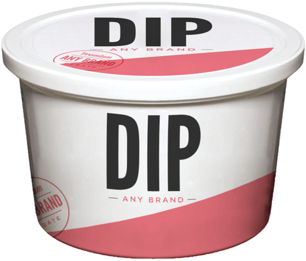 $0.25 for Dip - Any Brand. Offer available at multiple stores.