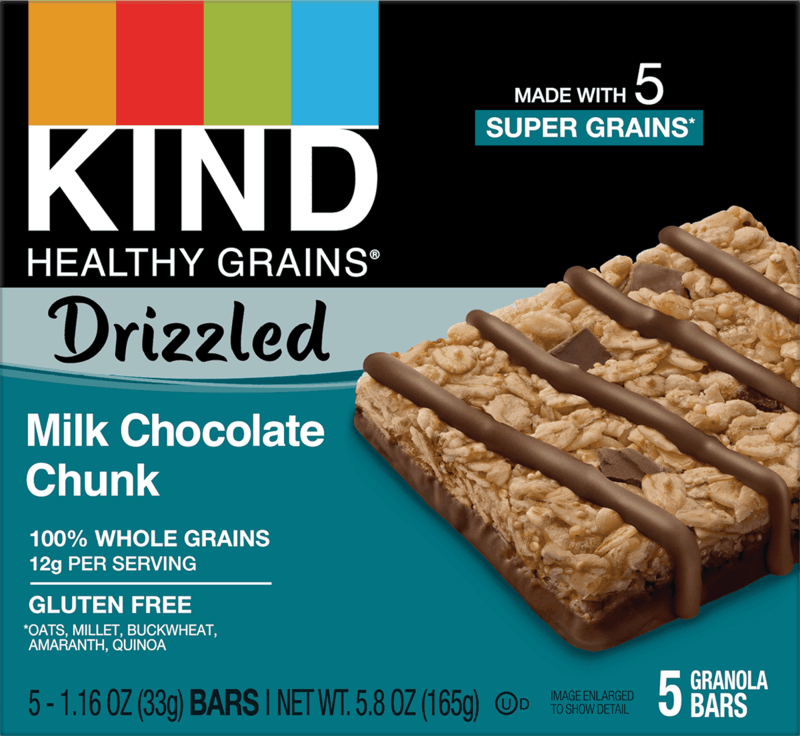 $0.75 for KIND Drizzled (expiring on Sunday, 09/12/2021). Offer available at multiple stores.