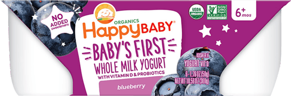 $1.25 for Happy Baby® Yogurt Cups (expiring on Tuesday, 04/02/2019). Offer available at Walmart.
