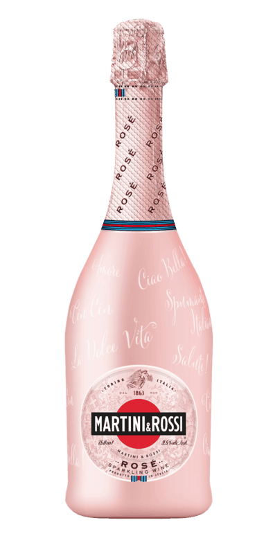 $2.00 for MARTINI & ROSSI Rosé Sparkling Wine. Offer available at multiple stores.