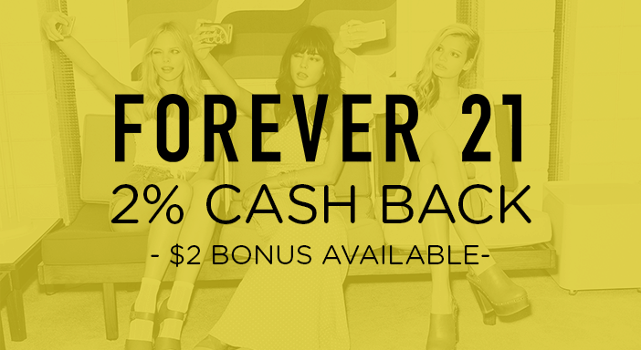 $0.00 for Forever21.com (expiring on Monday, 03/31/2025). Offer available at Forever 21.
