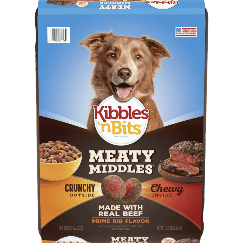 $1.25 for Kibbles 'n Bits (expiring on Wednesday, 08/12/2020). Offer available at multiple stores.