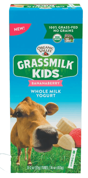 $0.75 for Organic Valley® Kids Grassmilk Yogurt (expiring on Thursday, 05/02/2019). Offer available at multiple stores.