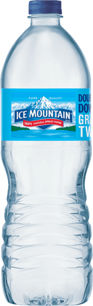 $0.50 for Ice Mountain® Brand Natural Spring Water (expiring on Friday, 03/02/2018). Offer available at Walmart.